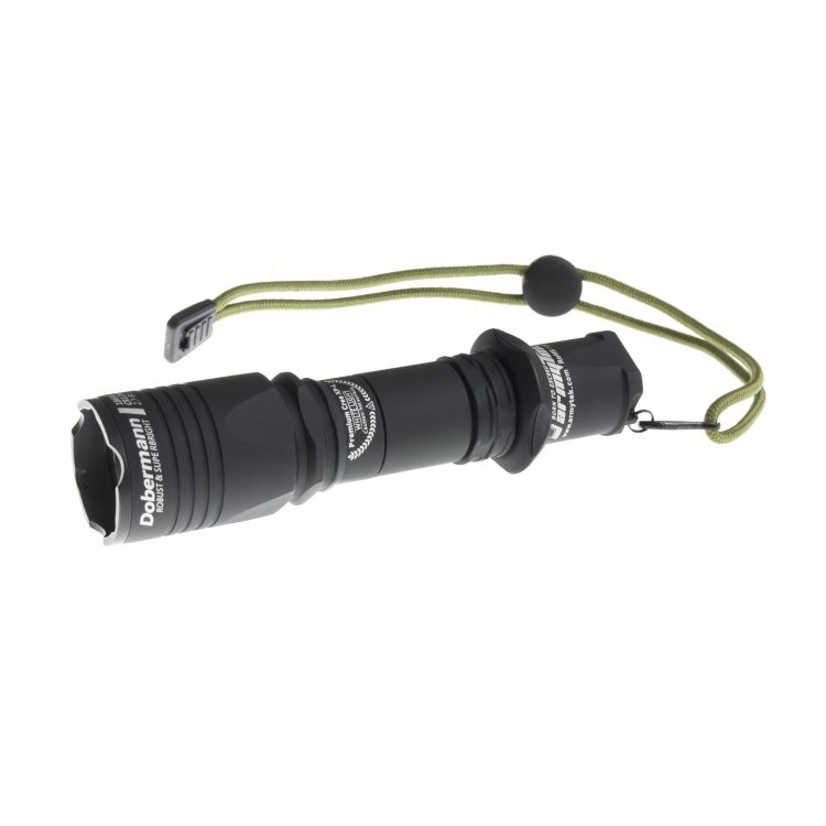 Фонарь Armytek Dobermann Pro XP-L High Intensity, тёплый свет 14943